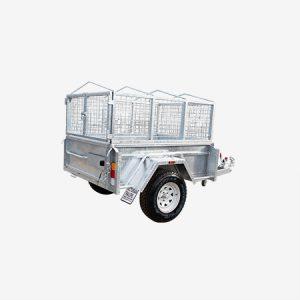 Single Axle Galvanised Cage Trailer for Sale in Bendigo
