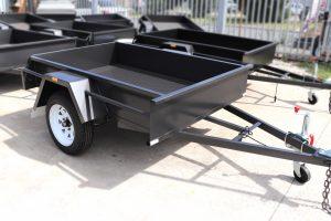 Single Axle Fixed Front Box Trailer for Sale Bendingo